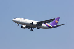 HS-TAX Airbus A300-600 of Thai airway Royalty Free Stock Photography