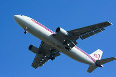 HS-TAX Airbus A300-600 of Thaiairway. Royalty Free Stock Photography