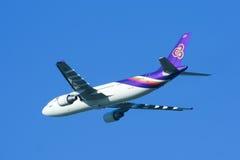 HS-TAZ Airbus A300-600 de Thaiairway Foto de Stock