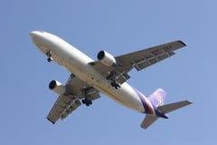 HS-TAZ Airbus A300-600 de Thaiairway Fotografia de Stock