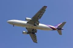 HS-TAZ Airbus A300-600 de Thaiairway Imagens de Stock