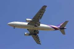 HS-TAZ Airbus A300-600 de Thaiairway Foto de Stock Royalty Free