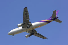 HS-TAZ Airbus A300-600 de Thaiairway Fotografia de Stock Royalty Free