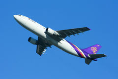 HS-TAZ Airbus A300-600 of Thaiairway Royalty Free Stock Image