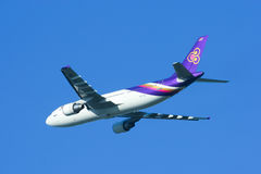 HS-TAZ Airbus A300-600 of Thaiairway Stock Photo