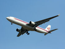 HS-TEA Airbus A330-300 of Thaiairway. Stock Photography