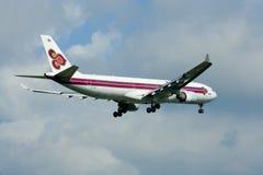 HS-TEA Airbus A330-300 of Thaiairway. Royalty Free Stock Photo