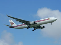 HS-TEA Airbus A330-300 of Thaiairway. Stock Image