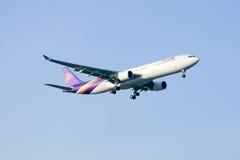 HS-TEB Airbus A330-300 de Thaiairway Imagem de Stock