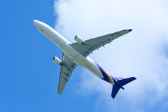HS-TEG Airbus A330-300 of Thaiairway Royalty Free Stock Photo