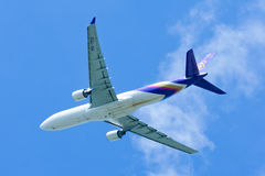 HS-TEG Airbus A330-300 of Thaiairway Stock Image