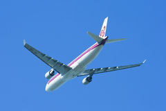 HS-TEM Airbus A330-300 of Thaiairway Stock Photography