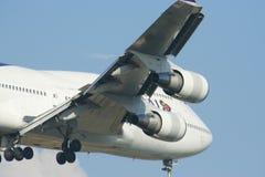 HS-TGA Boeing 747-400 de Thaiairway Photo stock