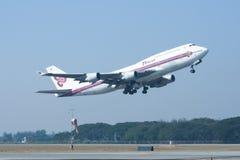 HS-TGA Boeing 747-400 of Thaiairway Stock Photography