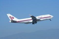 HS-TGA Boeing 747-400 of Thaiairway Stock Photo