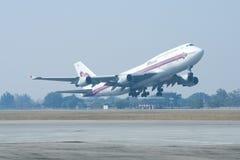 HS-TGA Boeing 747-400 of Thaiairway Royalty Free Stock Photography