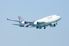 HS-TGB Boeing 747-400 Photo stock