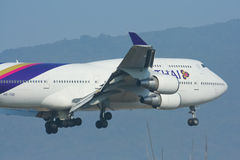 HS-TGB Boeing 747-400 Photos stock