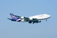 HS-TGB Boeing 747-400 Images stock