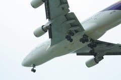 HS-TGB Boeing 747-400 di Thaiairway Immagine Stock Libera da Diritti