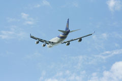 HS-TGH Боинга 747-400 Thaiairway стоковые изображения rf