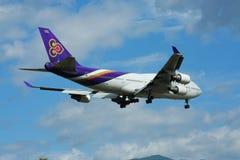 HS-TGH Боинга 747-400 Thaiairway Стоковое фото RF