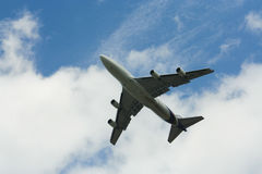 HS-TGH Боинга 747-400 Thaiairway Стоковые Фотографии RF