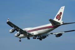 HS-TGH Boeing 747-400 de Thaiairway Photographie stock