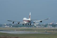 HS-TGH Boeing 747-400 de Thaiairway Photo stock