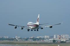 HS-TGH Boeing 747-400 de Thaiairway Images libres de droits