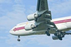 HS-TGH of Boeing 747-400 Thaiairway Stock Images