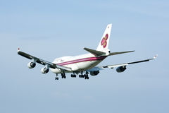 HS-TGH of Boeing 747-400 Thaiairway Royalty Free Stock Photo