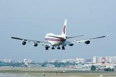 HS-TGH de Boeing 747-400 Thaiairway Fotografia de Stock