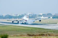 HS-TGH de Boeing 747-400 Thaiairway Foto de Stock Royalty Free