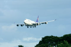 HS-TGK Boeing 747-400 de Thaiairway Photo libre de droits