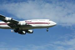 HS-TGL Boeing 747-400 de Thaiairway Photographie stock