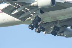 HS-TGM Boeing 747-400 de Thaiairway Images stock