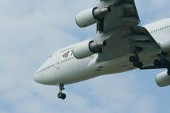 HS-TGO Boeing 747-400 de Thaiairway Photo libre de droits