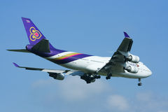 HS-TGO Boeing 747-400 de Thaiairway Photo stock