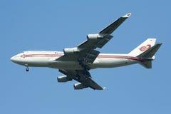 HS-TGT Boeing 747-400 de Thaiairway Image libre de droits