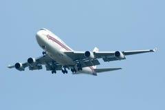 HS-TGT Boeing 747-400 de Thaiairway Photos stock