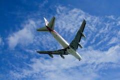 HS-TGX Boeing 747-400 de Thaiairway Photo libre de droits