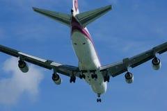 HS-TGX Boeing 747-400 de Thaiairway Images stock