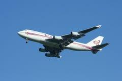 HS-TGX Boeing 747-400 de Thaiairway Photo stock
