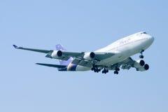 HS-TGZ Boeing 747-400 de Thaiairway Images stock