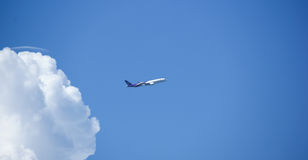 HS-THC, Airbus A350-900 XWB of Thaiairway. Royalty Free Stock Photography