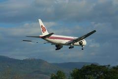 HS-TJH Боинга 777-200 Thaiairway Стоковое фото RF