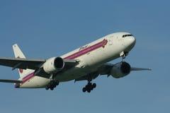 HS-TJH Boeing 777-200 Thaiairway Obrazy Stock
