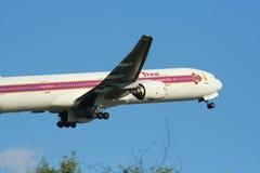 HS-TKB Boeing 777-300 Thaiairway Zdjęcie Royalty Free