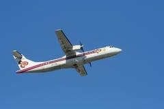 HS-TRA ATR72-200 Thaiairway Zdjęcie Royalty Free